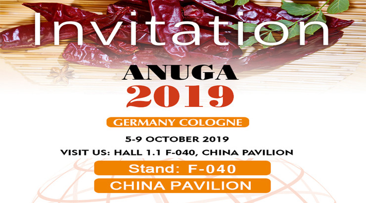 Invitation for ANUGA Cologne 2019